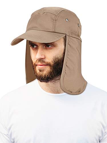 2 Piezas Sombrero Oreja Cuello Aleta Gorras Protección