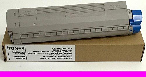 Preisvergleich Produktbild Toner Oki C822n C822dn C822 -Magenta - 7.300 Seiten A4 (EIN / ISO) - Oki SAP Code: 44844614 - Oki EAN: 5031713056140 - Gewicht: 542, 6 Grams - REGENERIERT - RENOVIERT