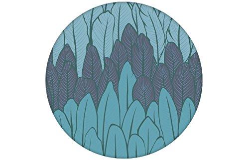 ... Blaue Streifentapete Mit Feder Motiv Angepasst An Wandfarben Von Little  Greene   Vlies Tapete Streifen ...