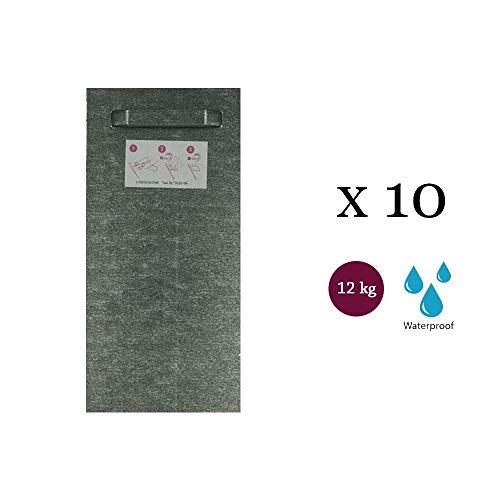 BOLHE - Lote 10 sujeciones Adhesivas 100 x 200 mm