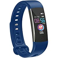 moreFit Kids Fitness Tracker with Heart Rate Monitor, Waterproof Activity Tracker Watch with 4 Sport Modes, Sleep Monitor Fitness Watch with Call & SMS Reminder Alarm Clock, Great Gift
