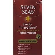 Seven Seas Simply Timeless Maximum Strength Capsules, 60-Count