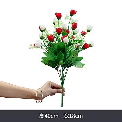 yueyue947 Einzelne gefälschte Blume, Simulation Bouquet Daisy, Kunststoff Blume Wohnzimmer Stoff Dekoration, Dekoration Blume, Party Dekoration1Bund kleine Blumen - Daisy Bouquet Wand