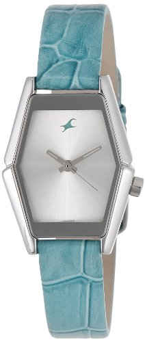 Fastrack Fits & Forms Analog Silver Dial Women's Watch - 6094SL01 image