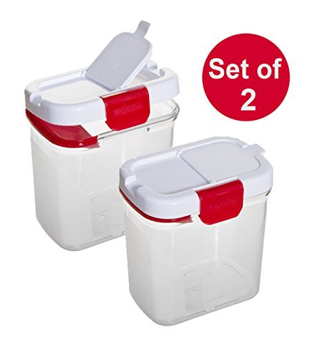 prepworks-from-progressive-international-dks-300-powdered-sugar-keeper-with-built-in-leveler-set-of-