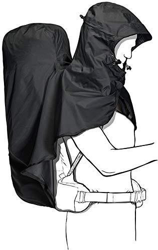 Jack Wolfskin Raincover Hoody 30-45L für Rucksäcke bis 45 Liter Phantom