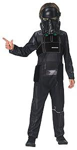 Star Wars Rogue One - Disfraz de Death Trooper para niños, infantil 5-6 años (Rubie