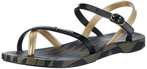 Ipanema - Ipanema Fashion Sand Iv Fem, Infradito Donna Mehrfarbig (black/gold)