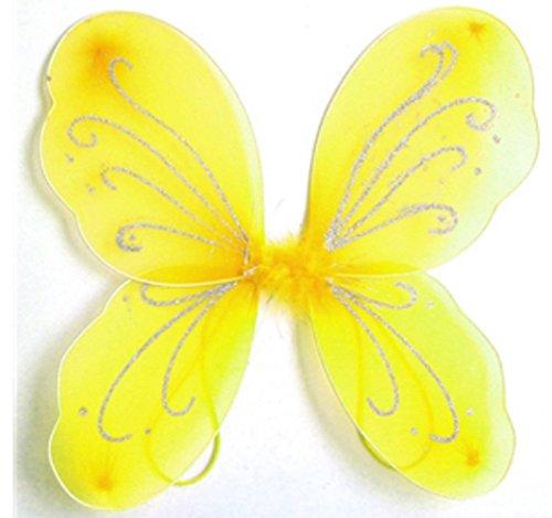 FlüGel Gelben Schmetterling FüR MäDchen - Hllw