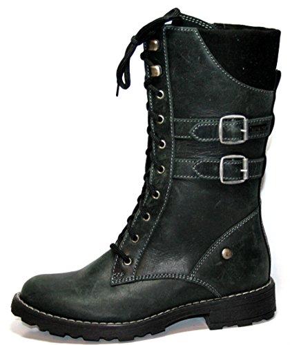 Siesta by juge 9267110–chaussures, bottes fille Noir - Noir
