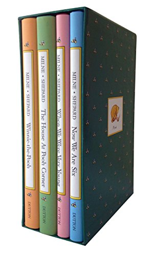 Pooh's Library: Winnie-the-Pooh; the House at Pooh Corner; when We    Were Very Young; Now We Are Six