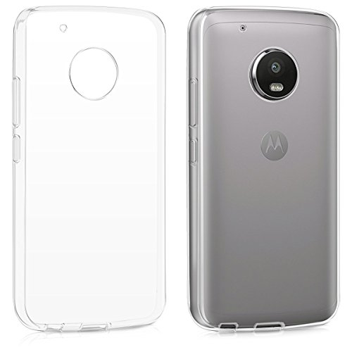 kwmobile Motorola Moto G5 Plus Hülle - Handyhülle für Motorola Moto G5 Plus - Handy Case in Transparent