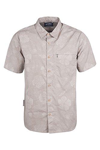 mountain-warehouse-camisa-de-manga-corta-palm-para-hombre-beige-xxx-large