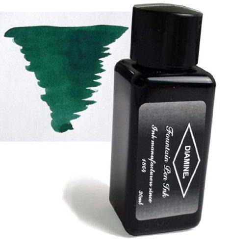 Diamine Refills Sherwood Green 30mL Bottled Ink - DM-3074 by Diamine Sherwood Green