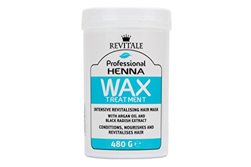 Revitale Professional Henna Revitalisierende Wachs-Behandlung, Haarmaske, 480 g - Henna-behandlung