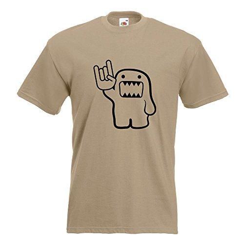 KIWISTAR - Heavy Domo T-Shirt in 15 verschiedenen Farben - Herren Funshirt bedruckt Design Sprüche Spruch Motive Oberteil Baumwolle Print Größe S M L XL XXL Khaki
