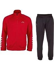 Kappa Trainingsanzug Kids Till Tracksuit - Chándal para niño, color rojo, talla 152 cm