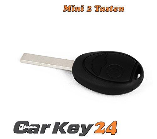 Mini- 2 Tasten Schlüssel mit Rohling HAA (Mini Cooper Ersatzschlüssel)