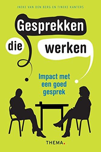 Gesprekken die werken (Dutch Edition)