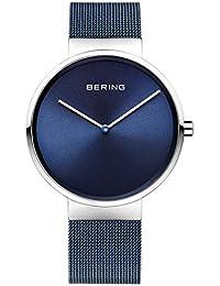 Bering Unisex-Armbanduhr Analog Quarz Edelstahl beschichtet 14539-307