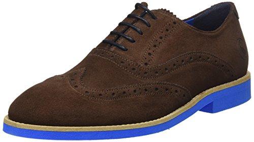 El Ganso M, Zapatos de Cordones Oxford para Hombre, Marrón (Marrón), 42 EU