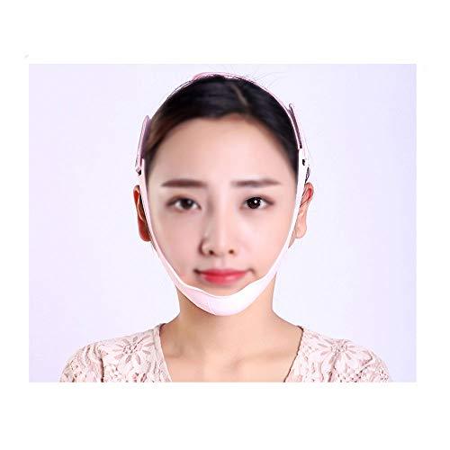 ZPWSNH Gesichtsstraffende Gesichtsmaske Gesichtsstraffung Körper Massen Skinny Bandage Atmungsaktive Doppelschicht Kinn Abnehmen Maske Maske Straffen
