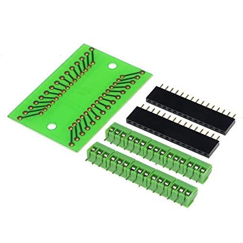 Pudincoco Nano 3.0 Controlador Terminal Adaptador/Placa de Expansión Nano Nano IO Shield V1.O Placa de Extensión Simple para Arduino