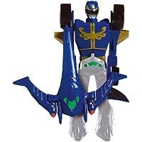 Power Ranger Megaforze - Figura transformable, color azul (Bandai 88592)