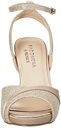 Paco Mena Damen Emirates Pumps Gold (Stone)