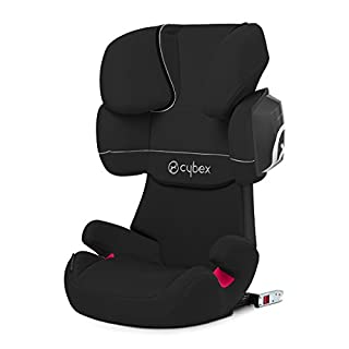 Cybex - Silla de coche grupo 2/3 Solution X2-Fix, para coches con y sin ISOFIX, 15-36kg, desde los 3 hasta los 12 años aprox., Pure Black (B00M2OA5JI) | Amazon Products