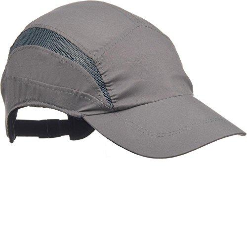 Scott HC24SP First base 3Classic 70mm picco berretto da baseball grigio (ciascuno)