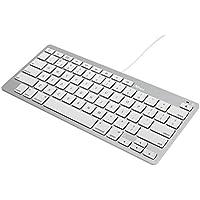 Trust Multimedia Tastatur (Lightning-Anschlusskabel, QWERTZ, deutsches Tastaturlayout, geeignet für iPad/iPhone) weiß