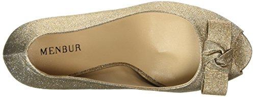 Menbur Coulanges, Scarpe col tacco donna Oro (Gold (Sand))