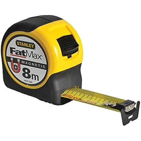 Stanley FatMax Blade Armor - Cinta métrica con gancho magnético (8 m)