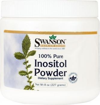 Swanson - Inositolo Polvere 100% Puro, 227g (Inositol Powder 100% Pure) - 6000mg por Cucchiaio