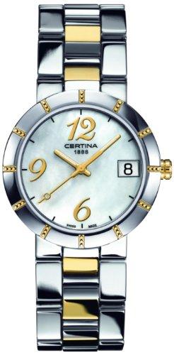 Certina Certina DS Stella C009.210.22.112.00 C009.210.22.112.00 - Orologio da polso da donna, cinturino in acciaio inox multicolore
