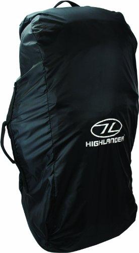 Highlander L Cover Rucksack-Abdeckung Combo, schwarz, 25 x 14 x 9 cm