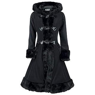 Poizen Industries Minx Coat Girl-Mantel schwarz XL