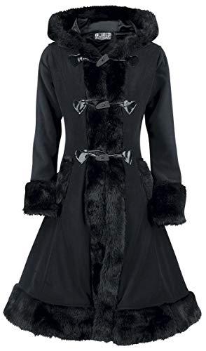Poizen Industries Abrigo Minx Abrigo Mujer Negro S