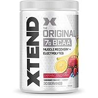 Scivation XTend BCAAs Diet Supplement Fruit Punch, 13.9 oz.