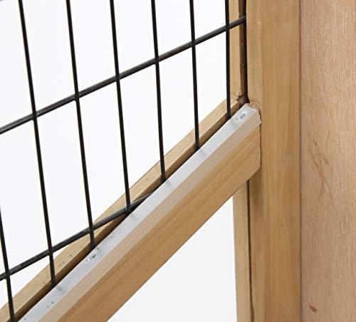 Kerbl 81703 Kleintierkäfig Indoor Deluxe Doppelstöckig, 115 x 60 x 118 cm - 4