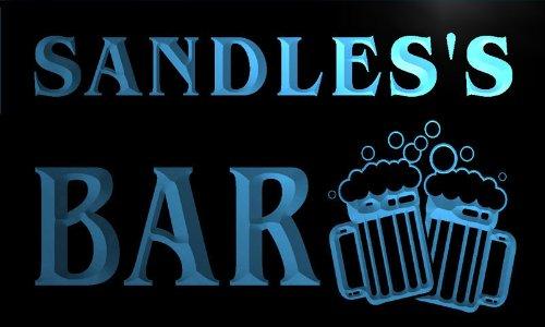 w048001-b-sandles-name-home-bar-pub-beer-mugs-cheers-neon-light-sign-barlicht-neonlicht-lichtwerbung