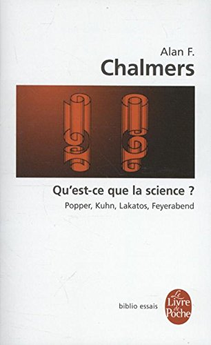 Qu Est-Ce Que La Science (Le Livre de Poche Biblio) por A. F. Chalmers