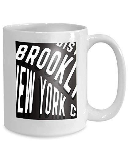 rint design brooklyn district new york city vintage stamp printing badge applique labels jeans urban 110z ()