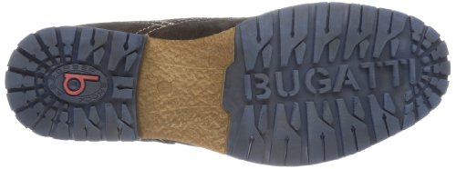 Bugatti - F373831, Polacchine Uomo Marrone (braun (dunkelbraun 610))