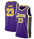 Basketball Trikot Atmungsaktiv Basketball-Weste-Shirt Komfortable, Schnelltrocknend für Basketballsp Kangrui (Retro Lila, L)