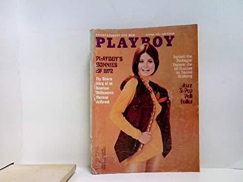 US Playboy Magazin Oktober 1972 Zeitschrift Original Ausgabe USA 10/1972 Sharon Johansen Meir ()