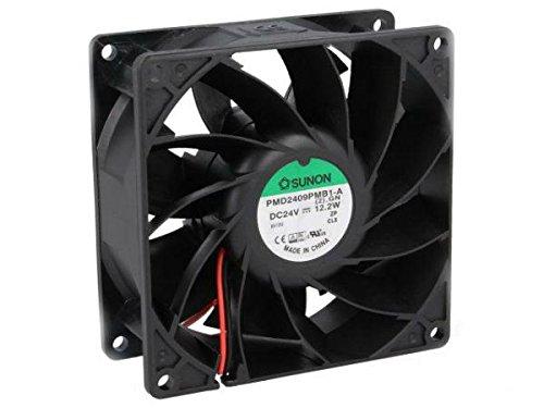 PMD2409PMB1A Fan DC, SUNON PMD2409PMB1-A(2).GN, 24VDC, 204.21m3/h, 57.6dBA /fba (Bearing Ball Fan Motor)