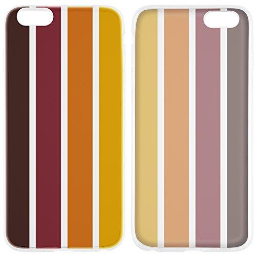 mumbi Schutzhülle für iPhone 6 6s Hülle Herbst braun