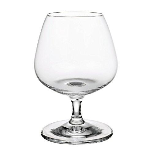 Cognacschwenker, Cognacglas, Schwenker, Weinbrandschwenker NAPOLI 390ml, transparent, Glas im...